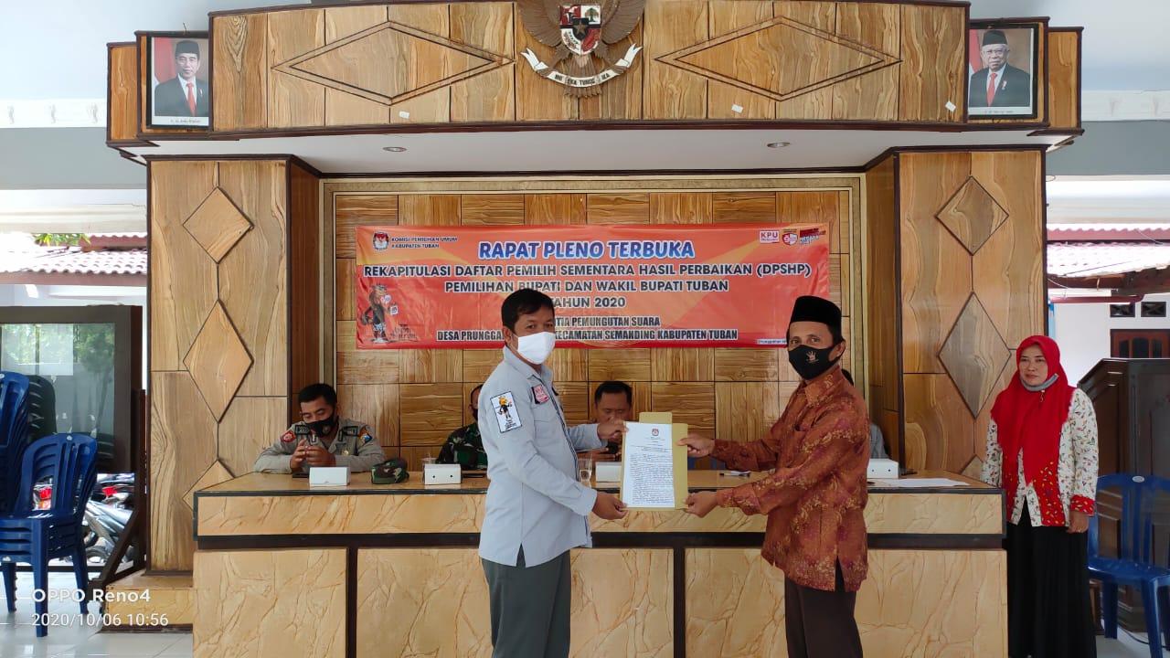 Rapat Pleno DPSHP Desa Prunggahan Wetan