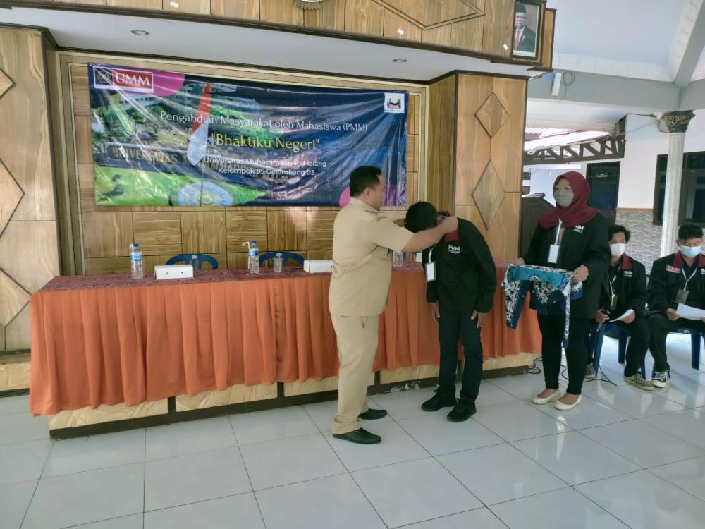 Pengabdian Masyarakat oleh Mahasiswa ( PMM ) UM Malang